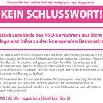 NSU Prozess München Nebenklage